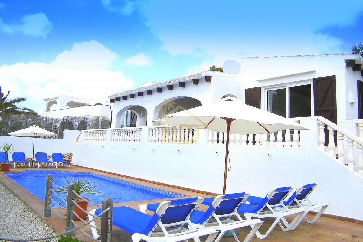 Binibeca Vell | Chalet con vistas al mar y Licencia Turística