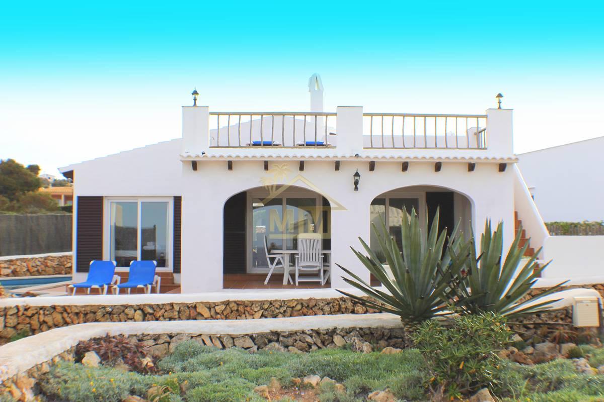 Binibeca Vell | Charmante, private villa mit herrlichem Meerblick