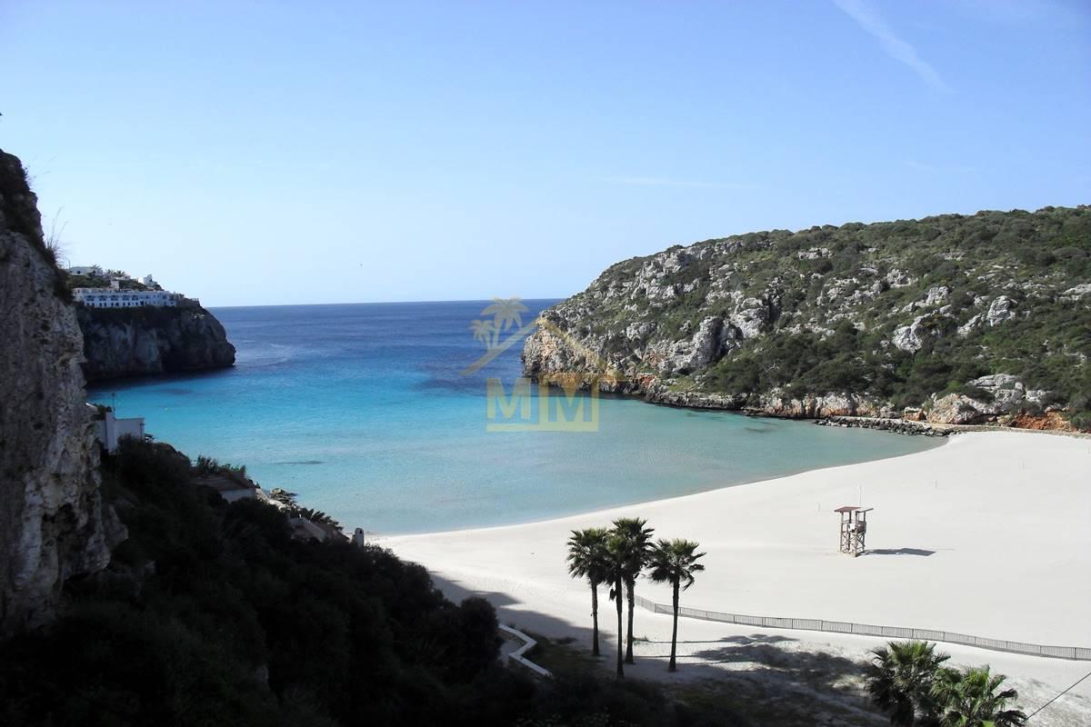 Calan Porter | Apartment with stunning sea and beach views