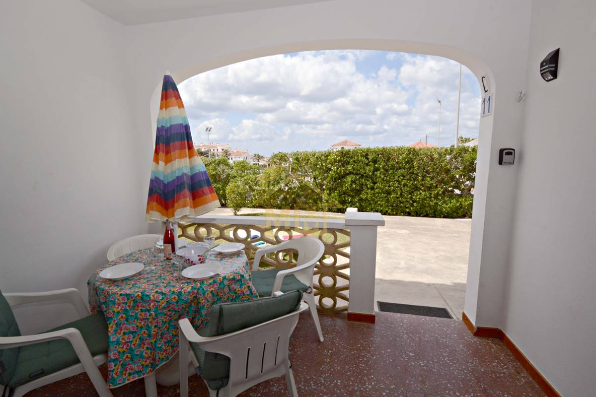 Calan Porter   Ground floor apartment with communal pool