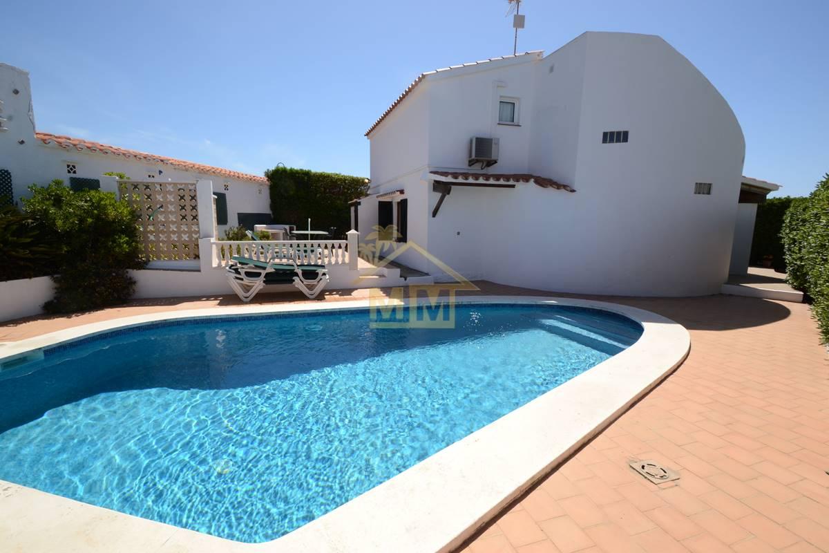 Binibeca | Villa de 3 dormitorios con vistas al mar