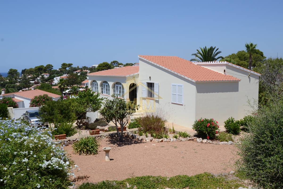 Binibeca Nou | Immaculate villa with sea views