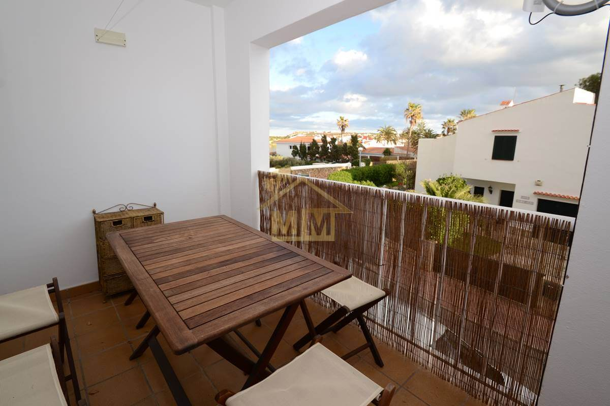 Es Castell | Duplex with Port views and communal pool