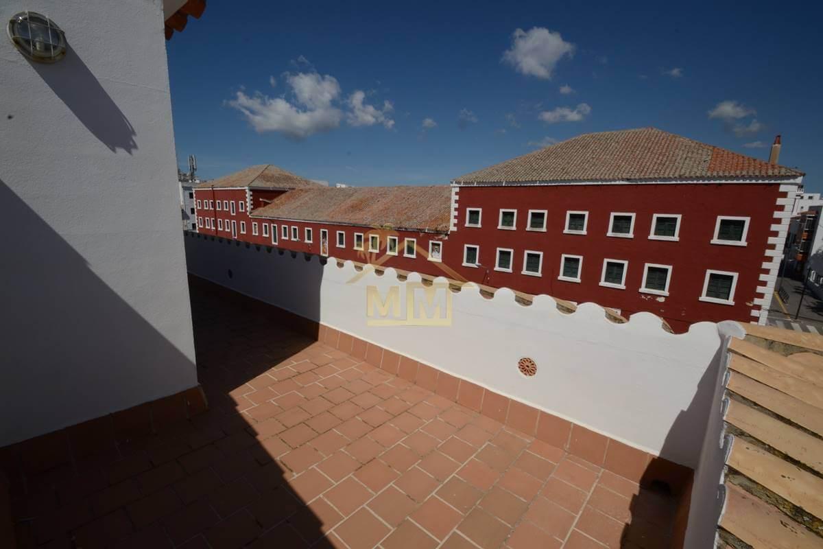 Es Castell| Duplex near Cales Fonts