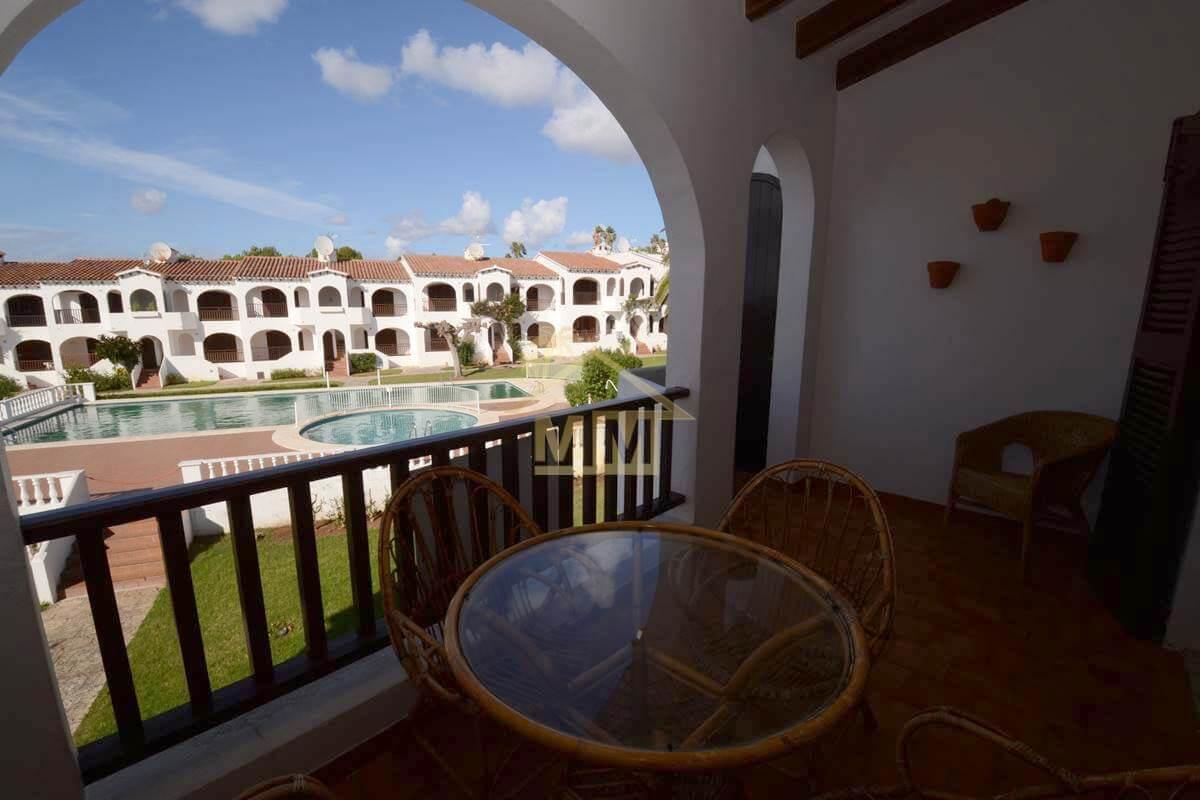 Son Bou | 2 bedroom apartment with communal Tourist Licence