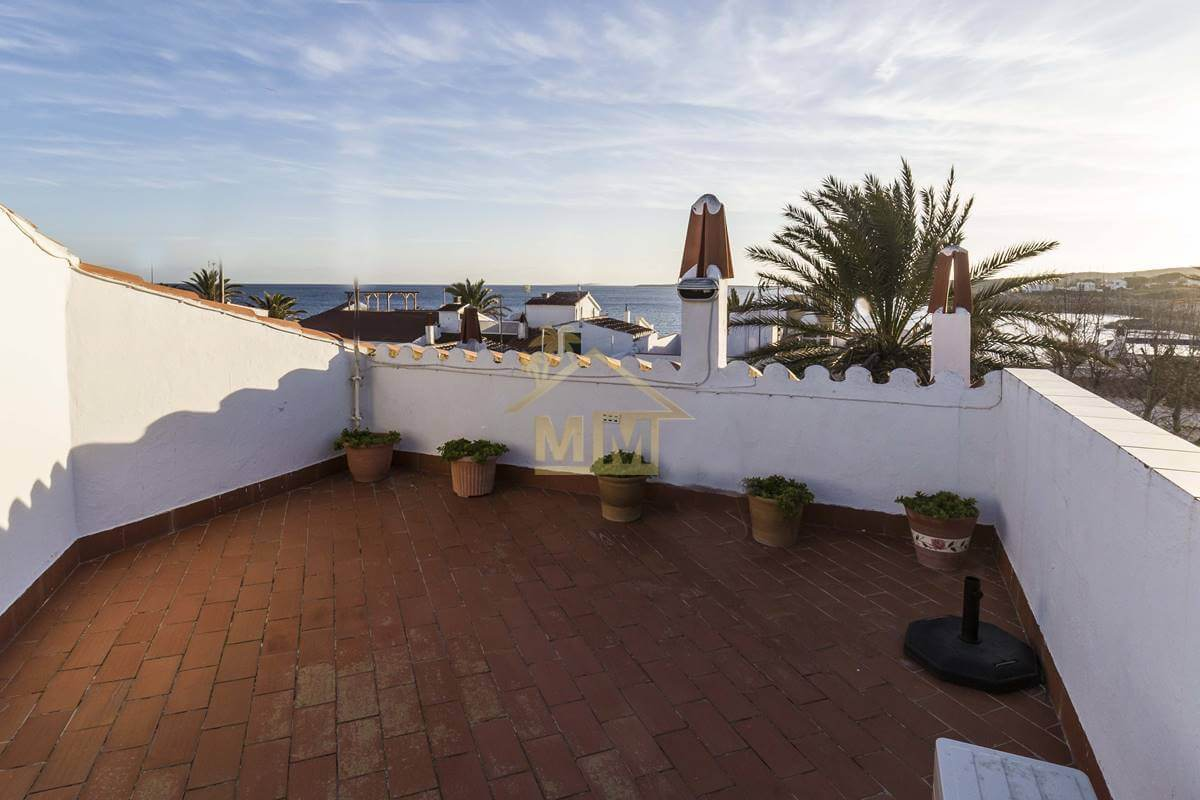 S'algar | Apartment with sea views from the Roof Terrace