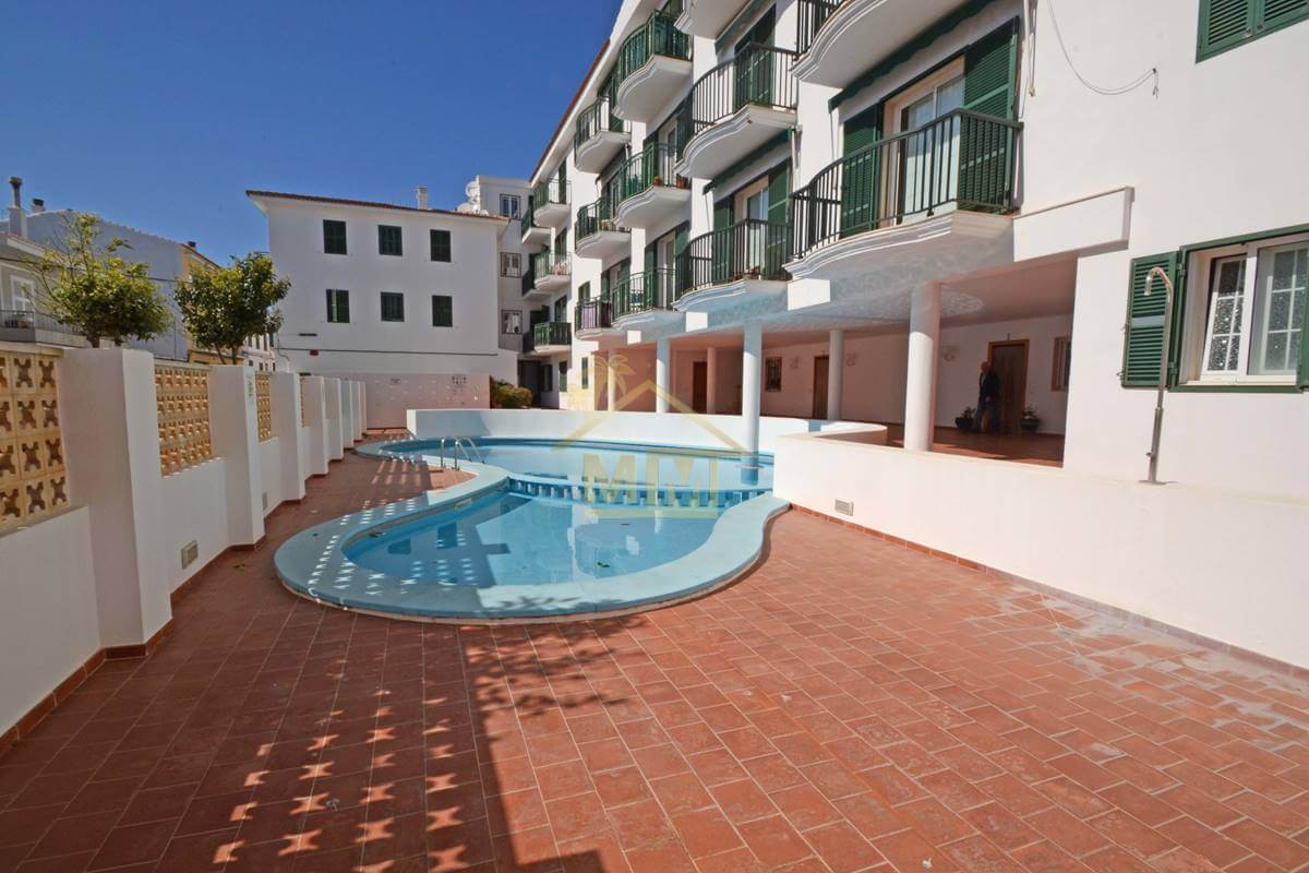 Es Castell | 3 Bedroom apartment with communal pool
