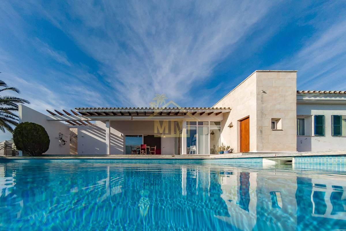 Binidalí | Impeccable villa avec jardin et piscine privée