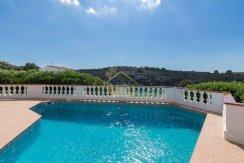 villa for sale in Canutells Mahon Menorca