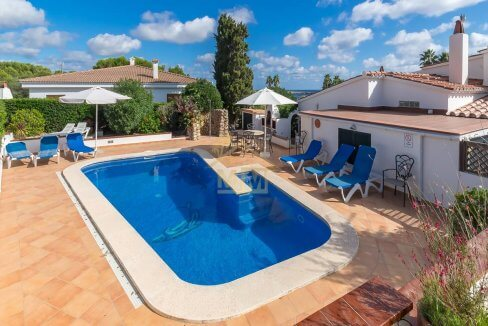 villa for sale in Binisafua Menorca