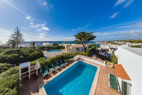 villa for sale in Son Remei Punta Prima Menorca