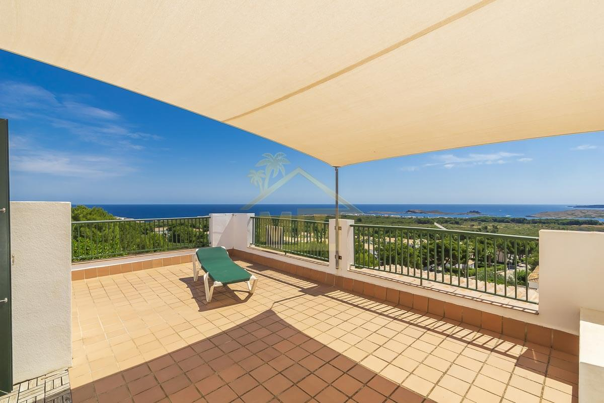 Coves Noves| Duplex with stunning sea views and communal pool