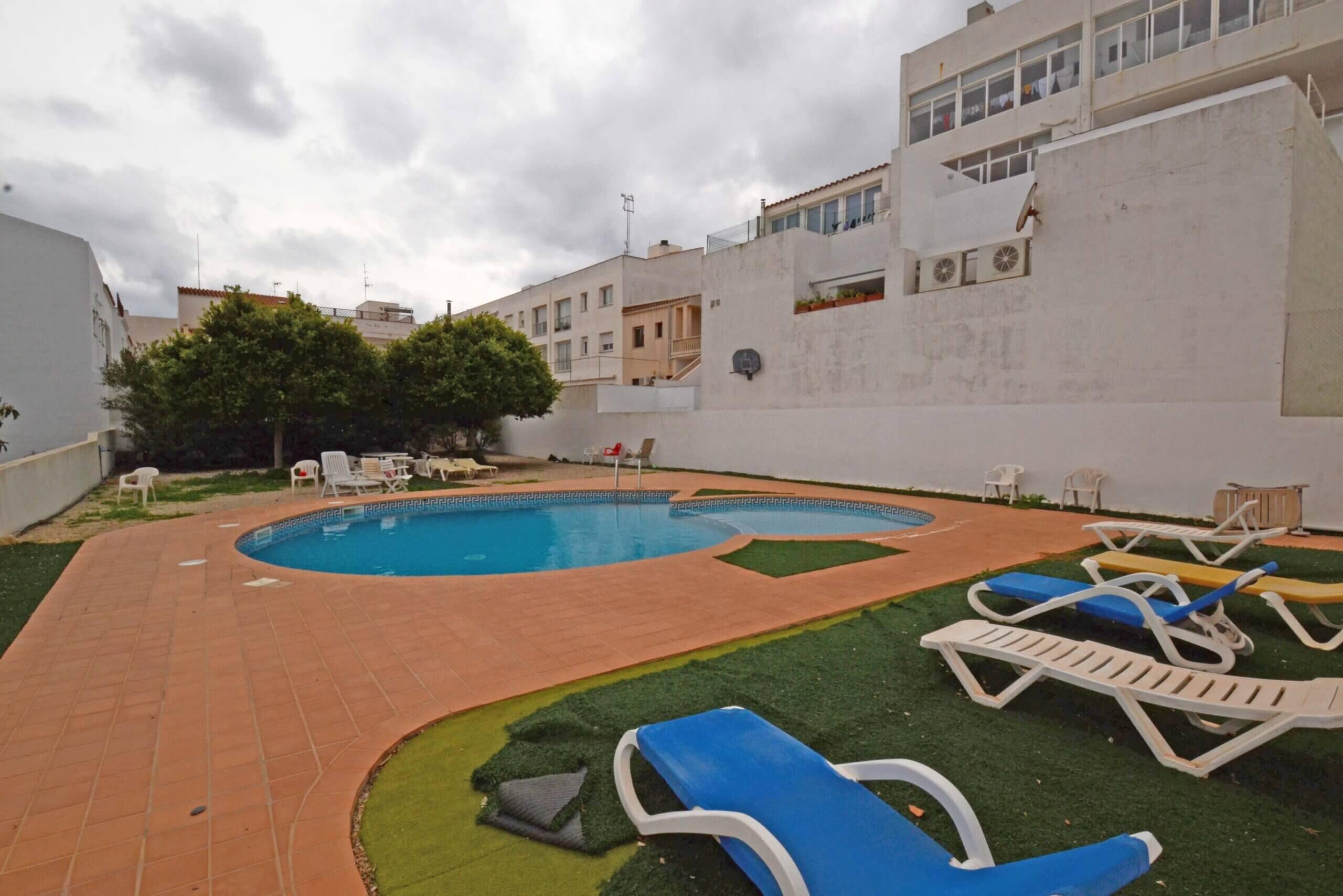 Sant Lluís| Fantastic 3 bedroom Flat with communal pool