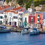 properties along the port of mahon menorca